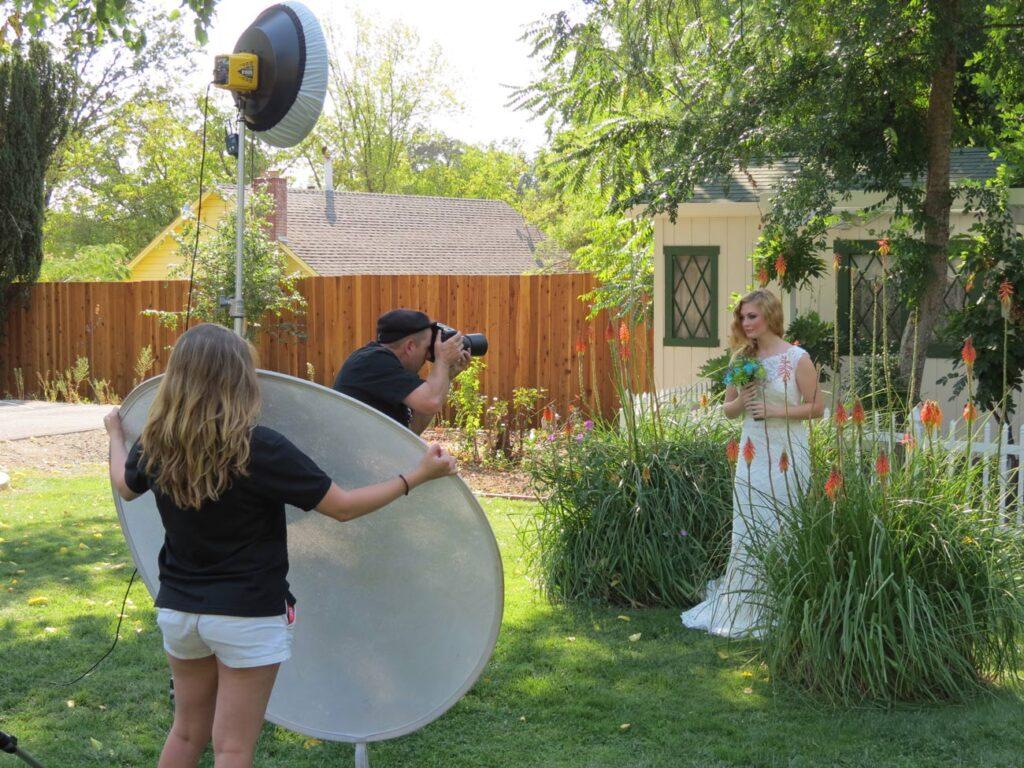 Sacbride.com photo shoot at Brookshire Gardens