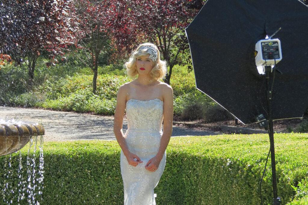 Bridal fashion at Monte Verde Inn by Sacramento Bride & Groom