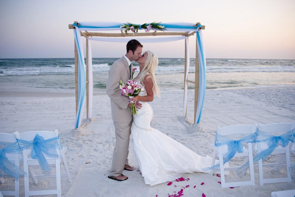 destination beach ceremony