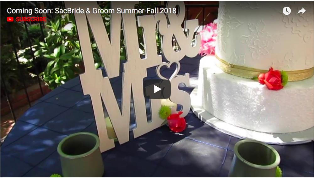 Sacramento Bride & Groom Summer/Fall 2018 promo video